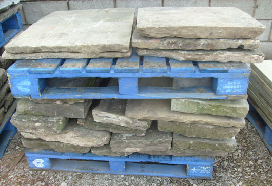 RECLAIMED YORKSTONE FLAGS Stone
